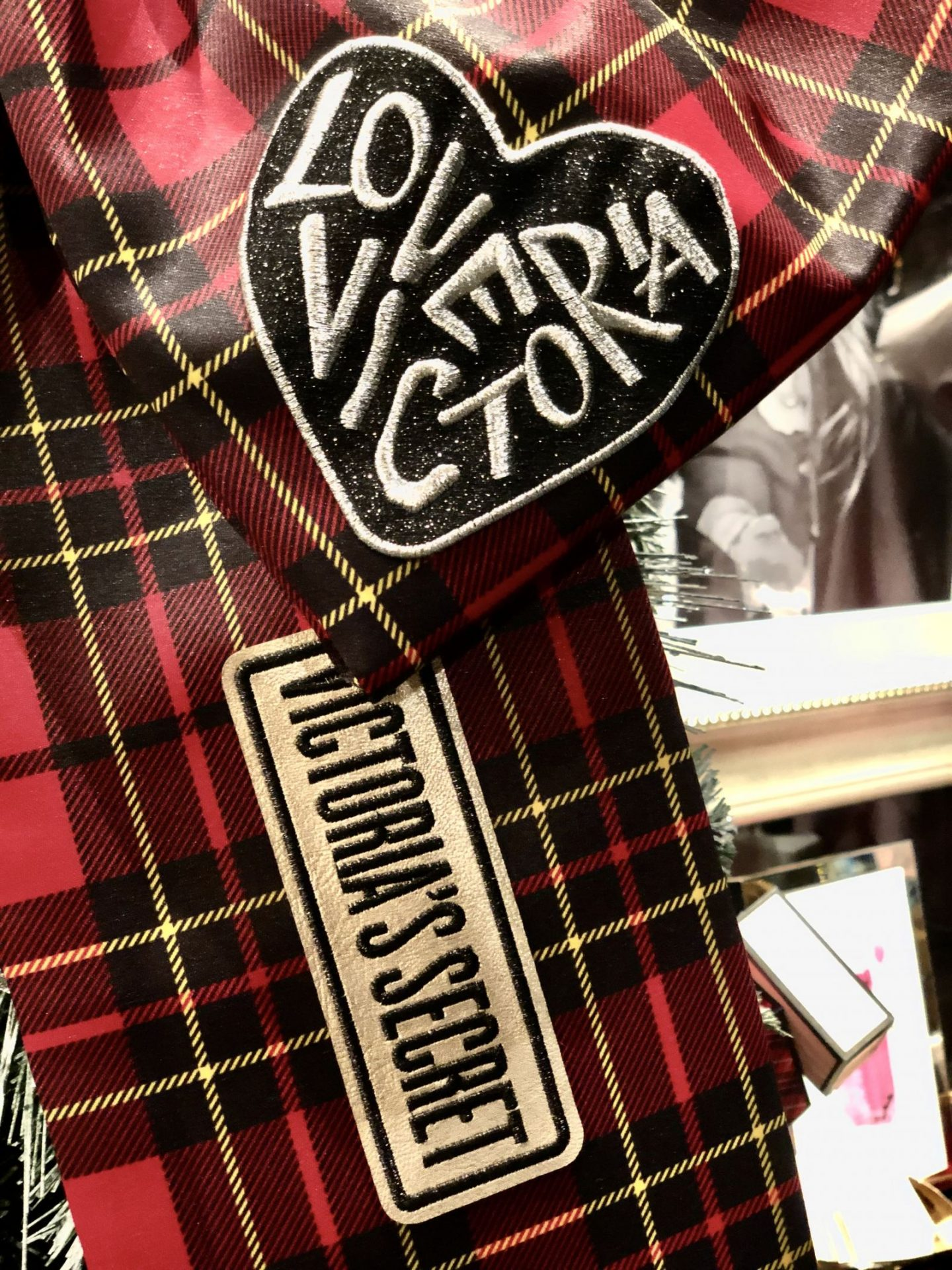 Victoria's Secret Tartan Ribbons Intu Metrocentre