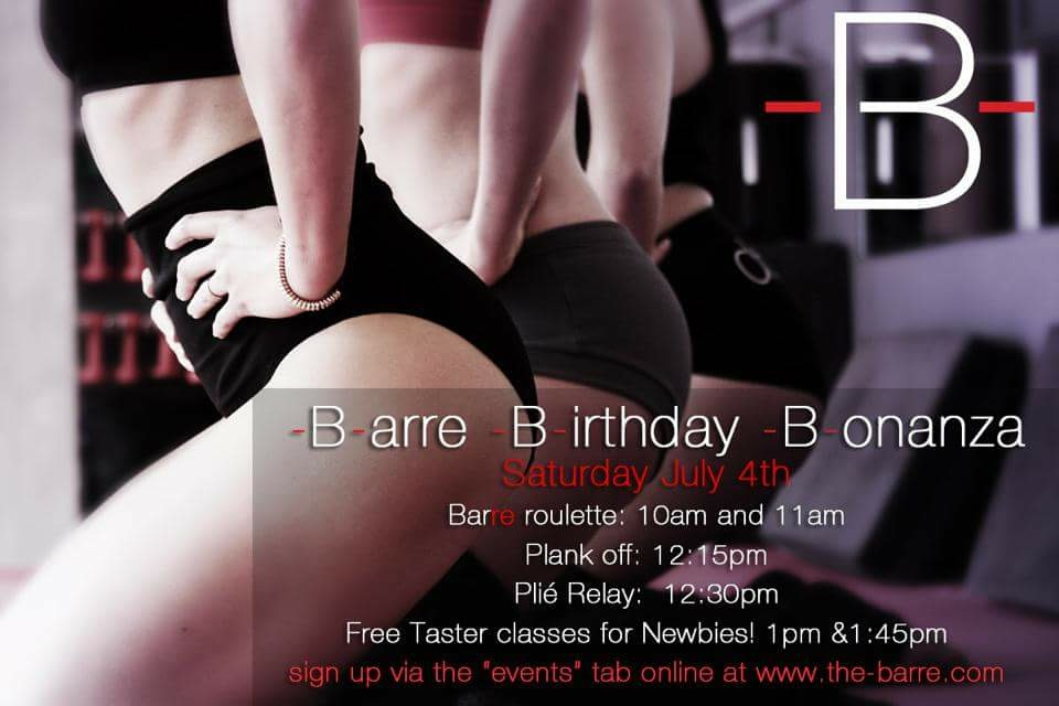 Barre Birthday Bash