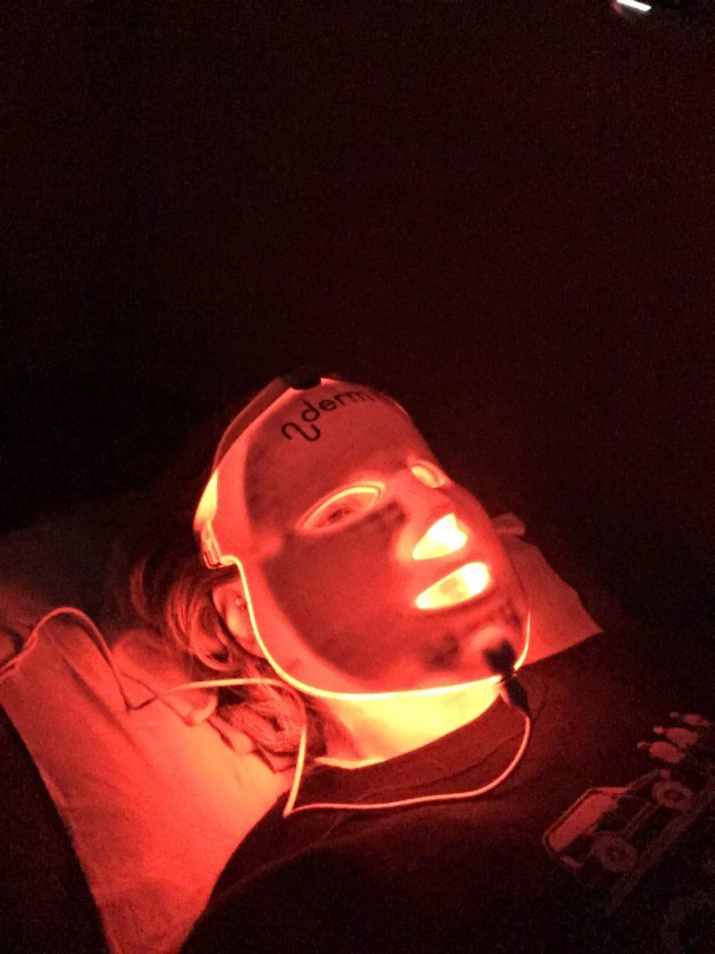Pixie Tenenbaum Nu Derm Facial LED Light Therapy
