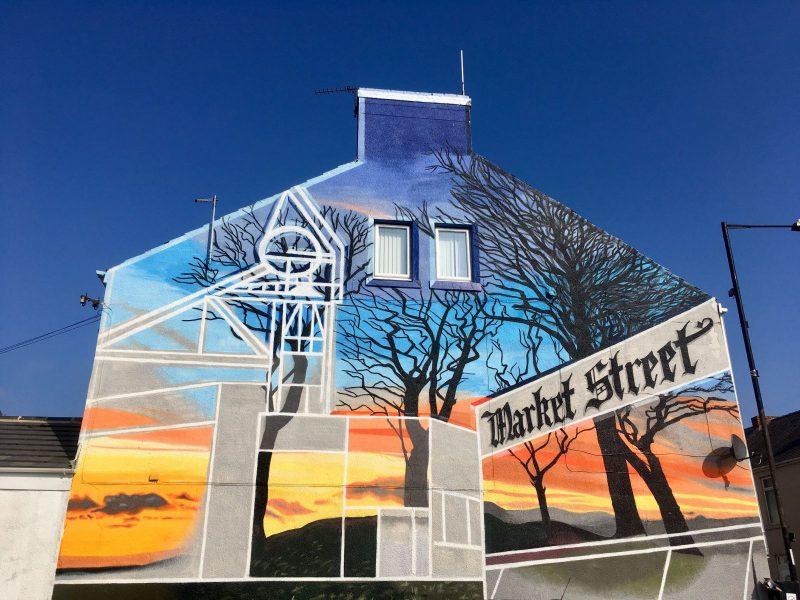 Number One Salon Market Street Graffiti