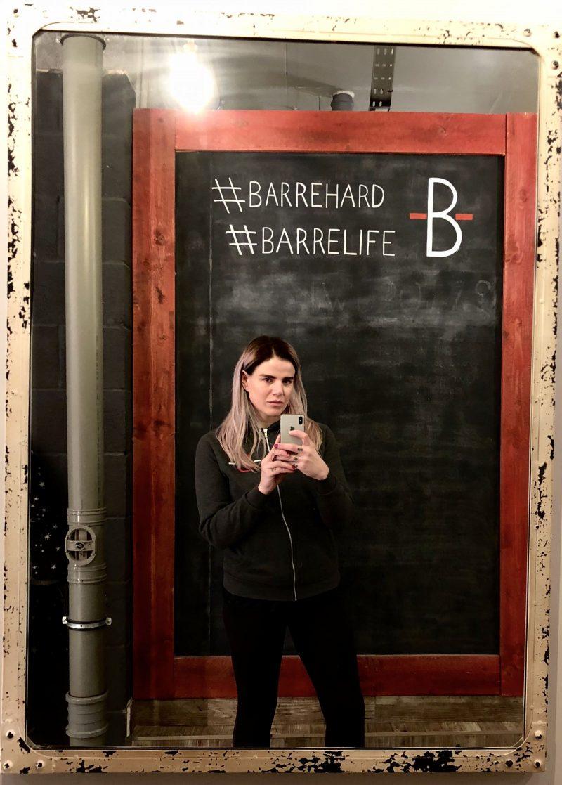 Pixie Tenenbaum at The Barre Workout, Newcastle