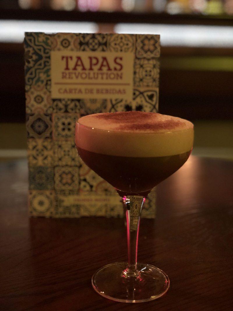 Espresso Blanco Martini, Tapas Revolution Newcastle