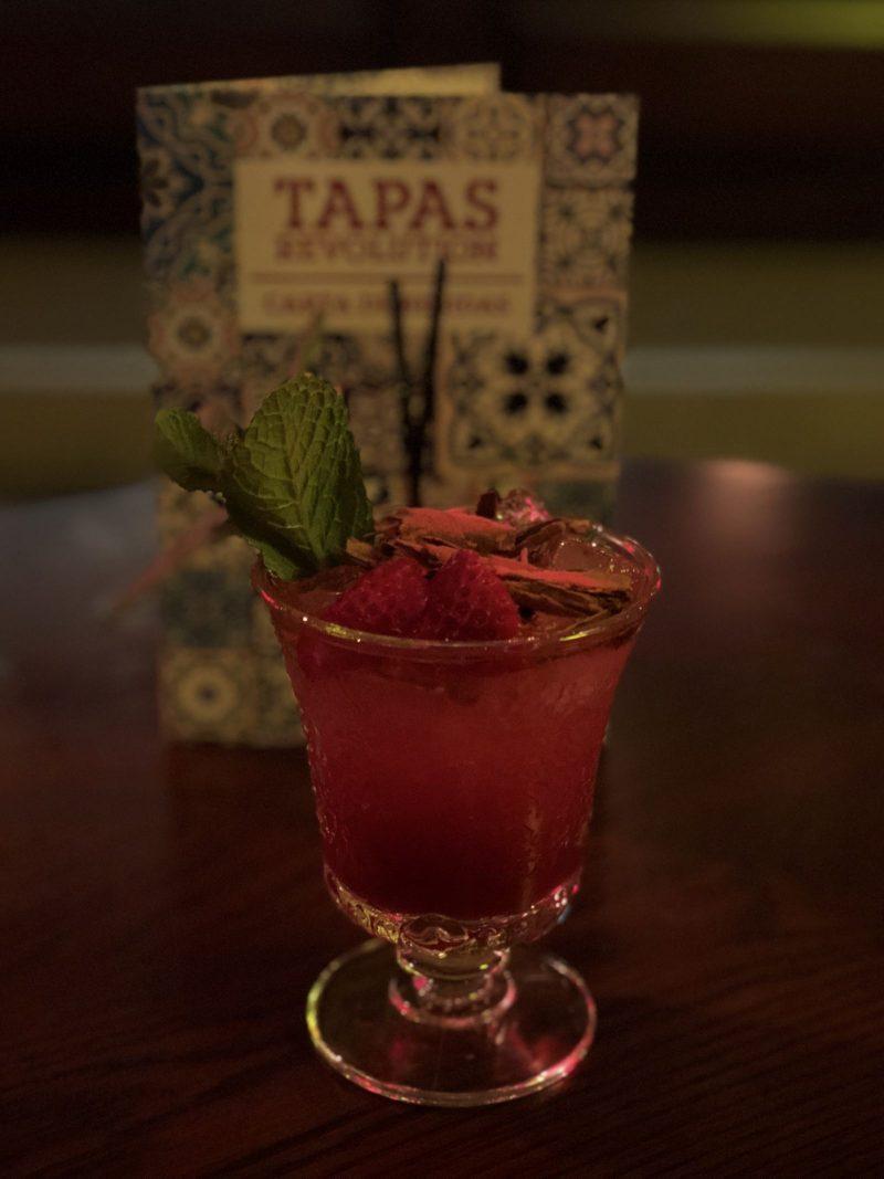 Blood Orange & Cherry Royal, Tapas Revolution Newcastle