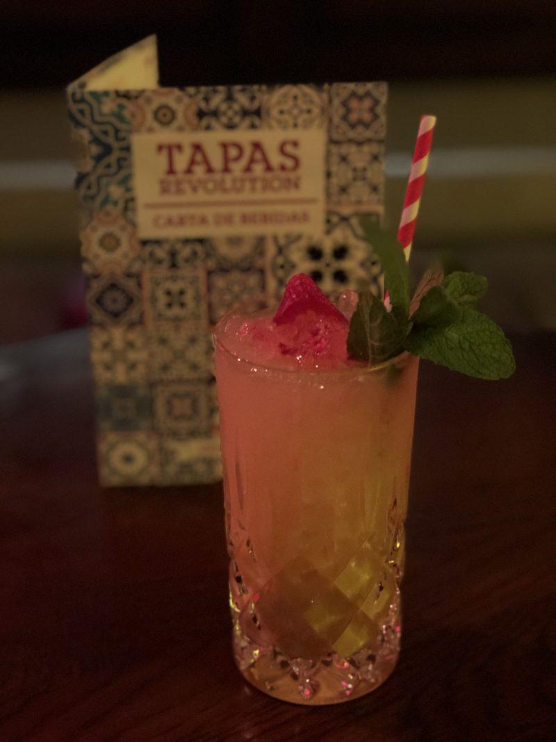 Passion Fruit & Marzipan Batida, Tapas Revolution Newcastle