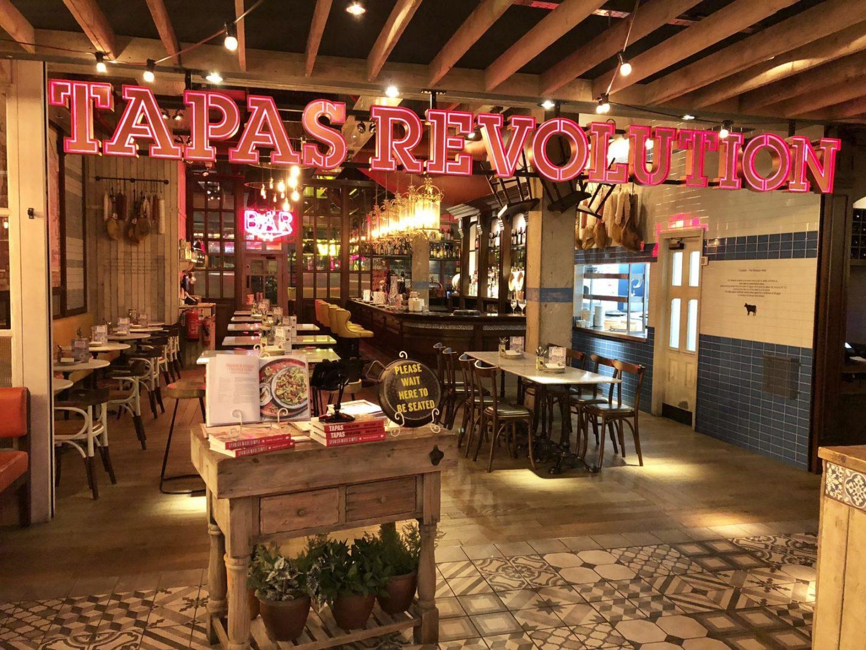 Cocktail Tasting at Tapas Revolution