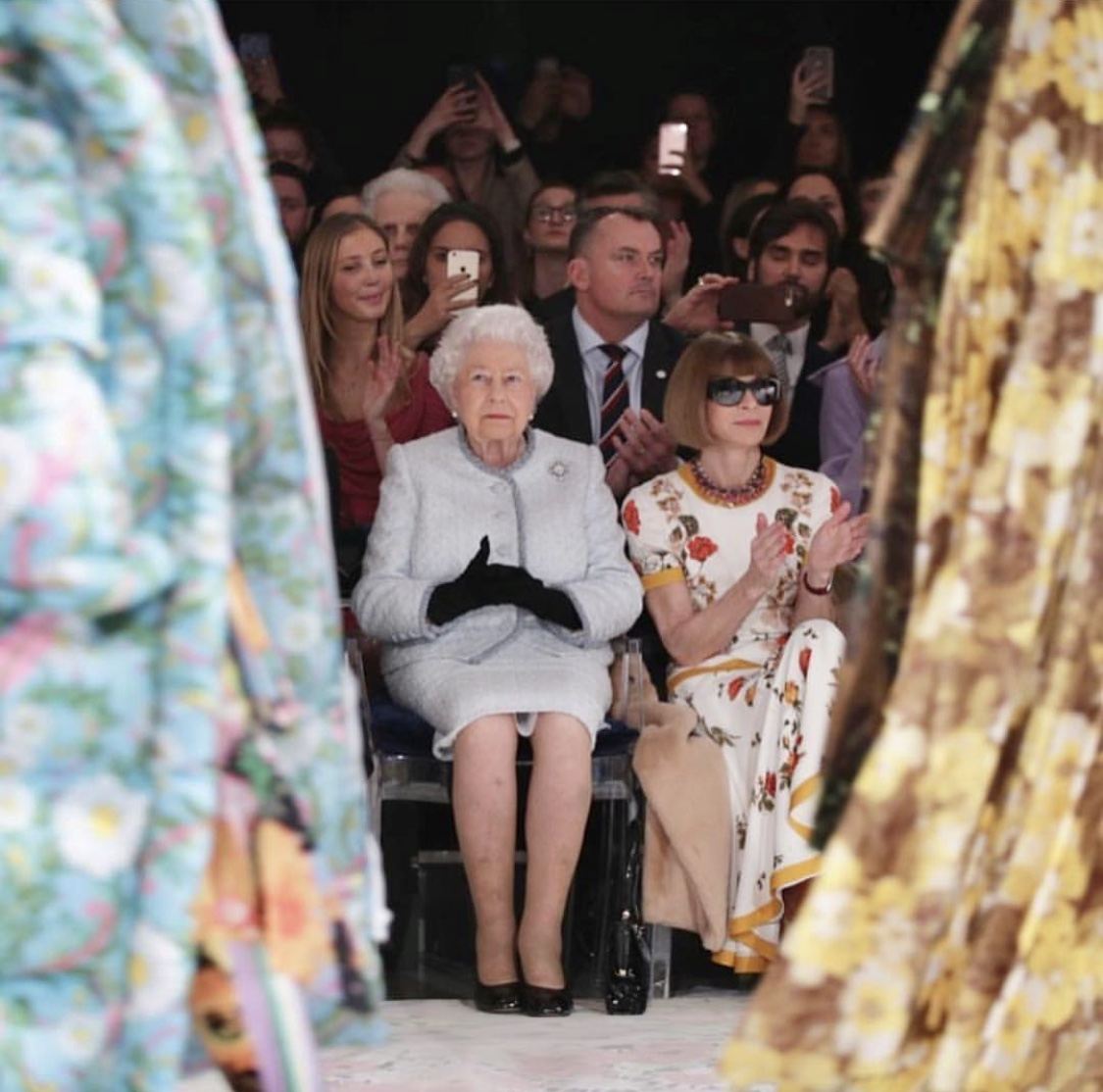 Why Was The Queen at London Fashion Week?