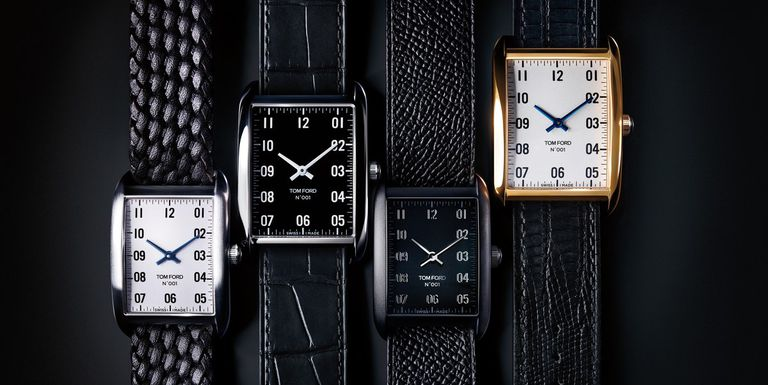 Tom Ford debuts 001 Timepiece