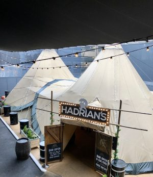 Hadrian's Tipi at STACK 2018