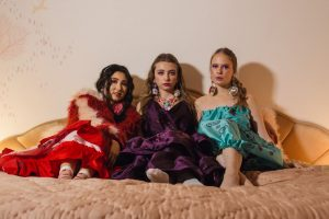 Group model shot for the Amy Thomson x Sassy Freak campaign for FW19 Fashion Voyeur Blog by Pixie Tenenbaum